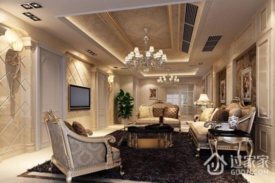 最新客厅吊顶大全 展现家居华丽风情