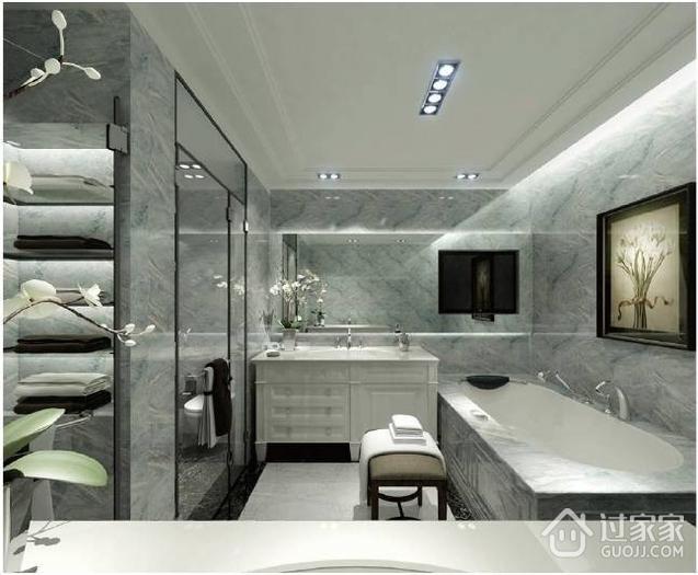 现代风卫生间吊顶设计图 时尚家居必备