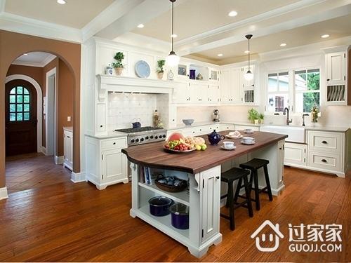 开放式厨房装修设计三大要点