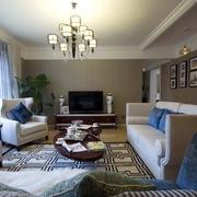 简约舒适三居室案例设计欣赏客厅灯饰