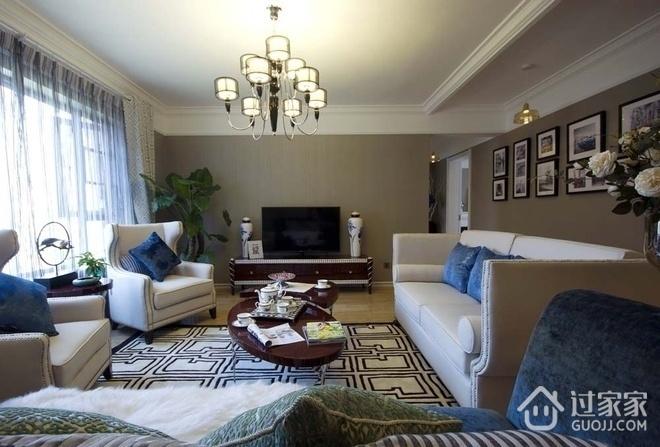 简约舒适三居室案例设计欣赏