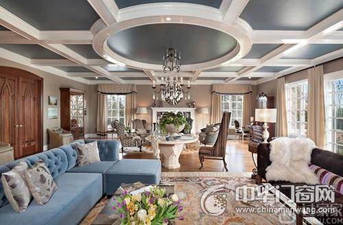 欧式风格客厅窗户设计 追求优雅气质和生活品质