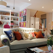现代美式家装的清新格调书房