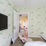 清新小窝 卧室室内门装修效果图
