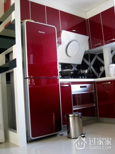 72平现代两居室欣赏厨房厨房