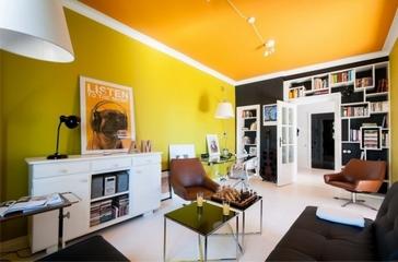 橙色活力一居室欣赏