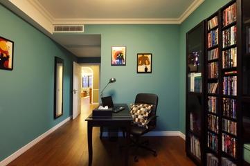118平美式三居室欣赏书房