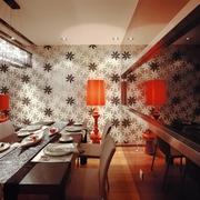 时尚现代风格住宅餐厅落地灯