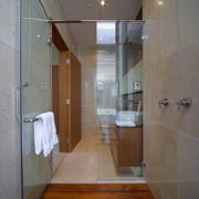 卧室玻璃浴室