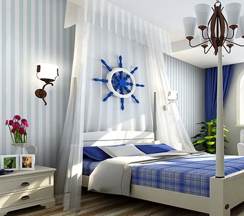 各种各样的色彩图案硅藻泥儿童房装修效果图