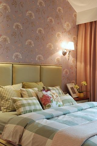 简约之风80后婚房的设计卧室