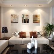 现代风格装修设计客厅