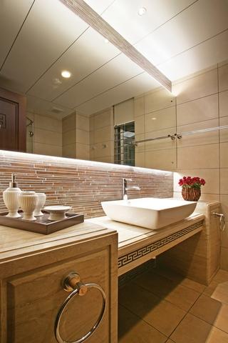 中式风格浴室装修效果图