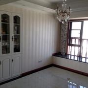 108平简欧设计欣赏卧室飘窗设计