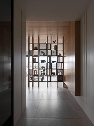 118平质感现代住宅欣赏过道