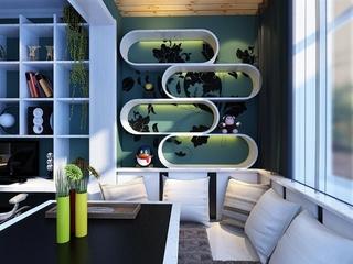 简约小一居住宅欣赏书房设计
