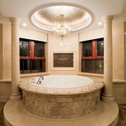 新古典别墅效果图浴缸