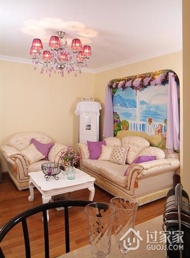 简约客厅灯饰装修效果图 自然简单生活