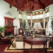 美式乡村套图客厅设计