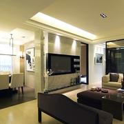 简约装饰设计客厅软装 陈设效果