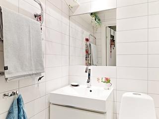 66平小资三口之家欣赏洗手间