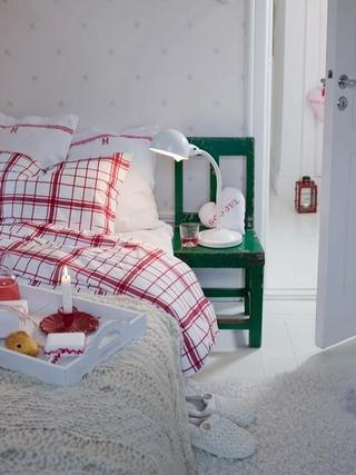 田园风格温馨住宅欣赏卧室局部