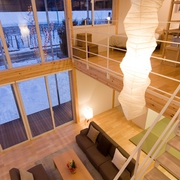 121平日式风格别墅欣赏客厅