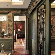 美式风格住宅设计套图室内门