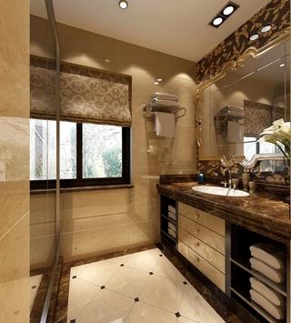 119平新古典四居室欣赏卫生间设计
