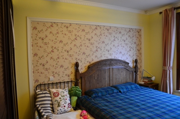 美式乡村风格住宅欣赏客厅背景墙