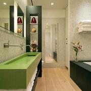 简约多功能住宅欣赏洗手间