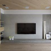 奢华新中式电视背景墙效果
