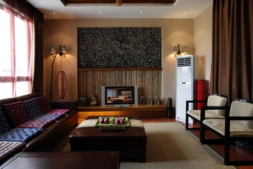 105平东南亚风格住宅欣赏