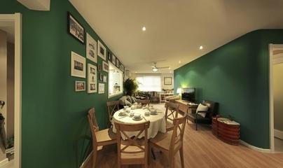环保美式风住宅欣赏餐厅餐桌