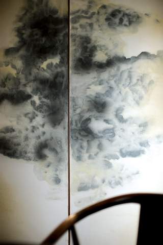新中式卧室屏风