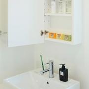 117平日式风格别墅欣赏洗手间效果