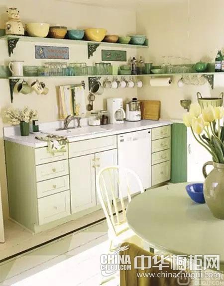 满足少女心的厨房设计 田园风格厨房装饰介绍