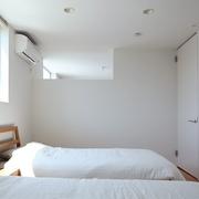 89平日式风格别墅欣赏卧室摆件