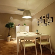 62平简约清新两居室欣赏餐厅餐桌