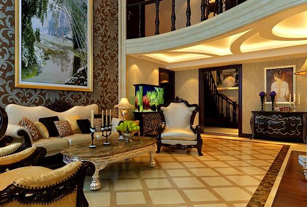 如何搭配欧式客厅的窗帘?如何搭配欧式客厅的挂画?