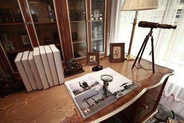 87平贵气美式三居室欣赏书房书桌柜