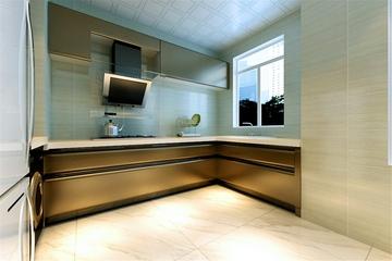 新古典温馨三居欣赏厨房橱柜