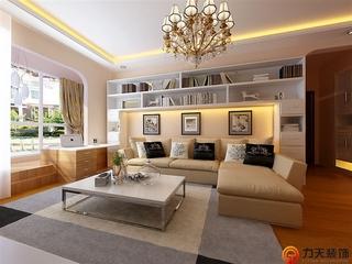 简约两室两厅欣赏客厅效果