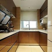 厨房橱柜装修效果图 简约却不失精美