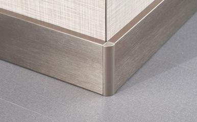 不锈钢踢脚线的安装及验收标准