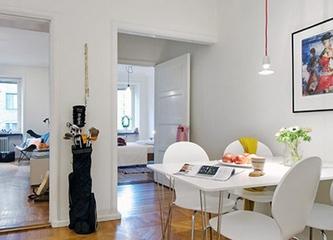 59平白色北欧住宅欣赏