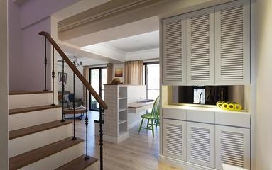 简约三居室案例住宅欣赏楼梯