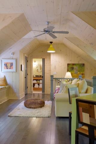 田园风格效果图起居室