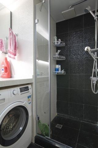 76平简约两居室住宅欣赏淋浴间