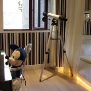 新古典复式设计卧室望远镜